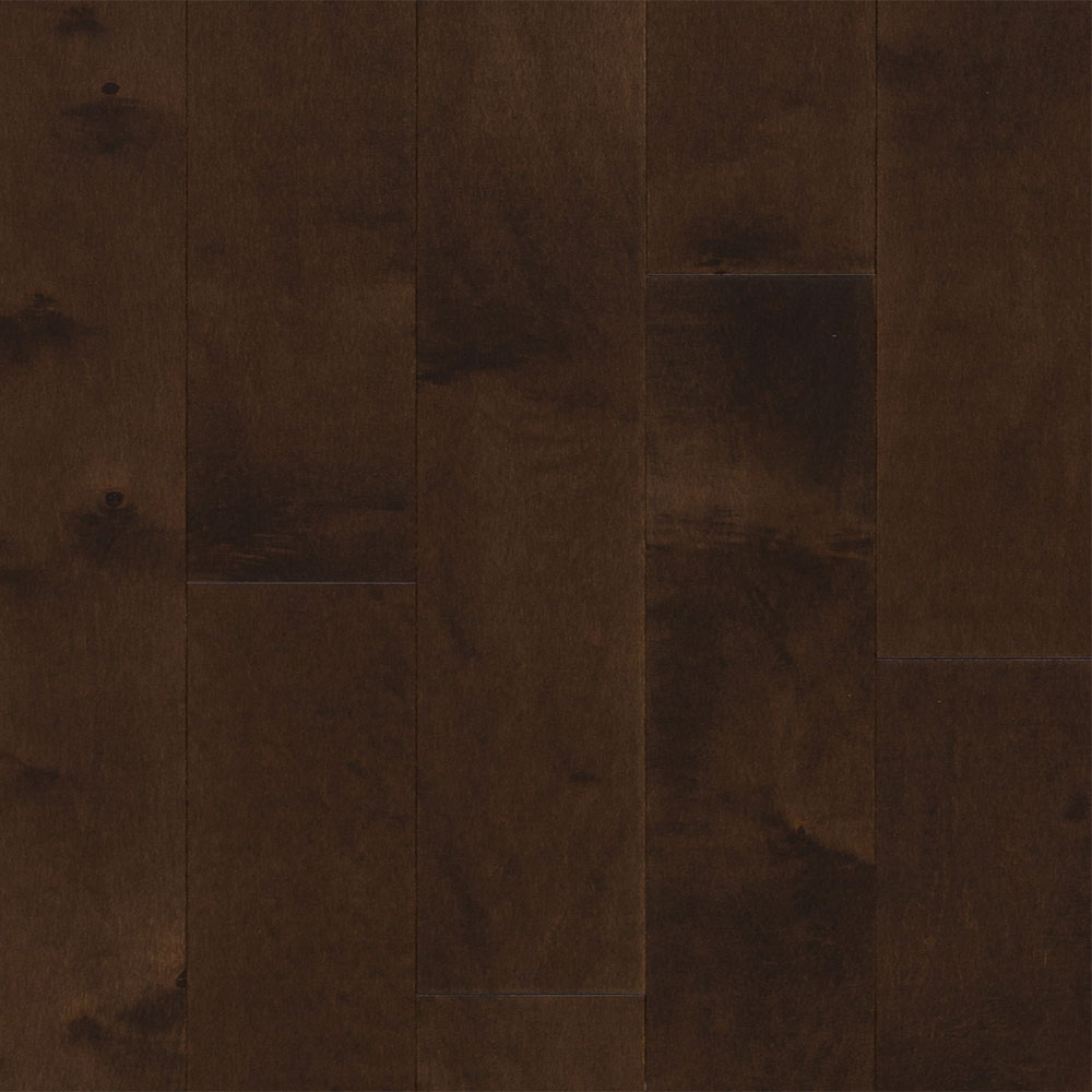 Design Plus Select and Better Solid 3 1/4 Hard Maple Chocolate Brown Matte