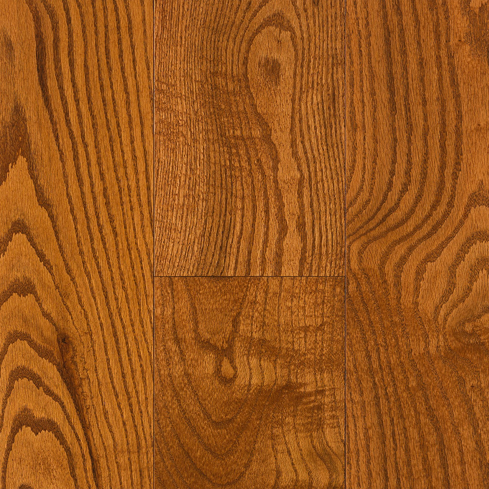 Mercier Design Plus Select and Better Solid 4 1/4 Red Oak Brushed Amaretto