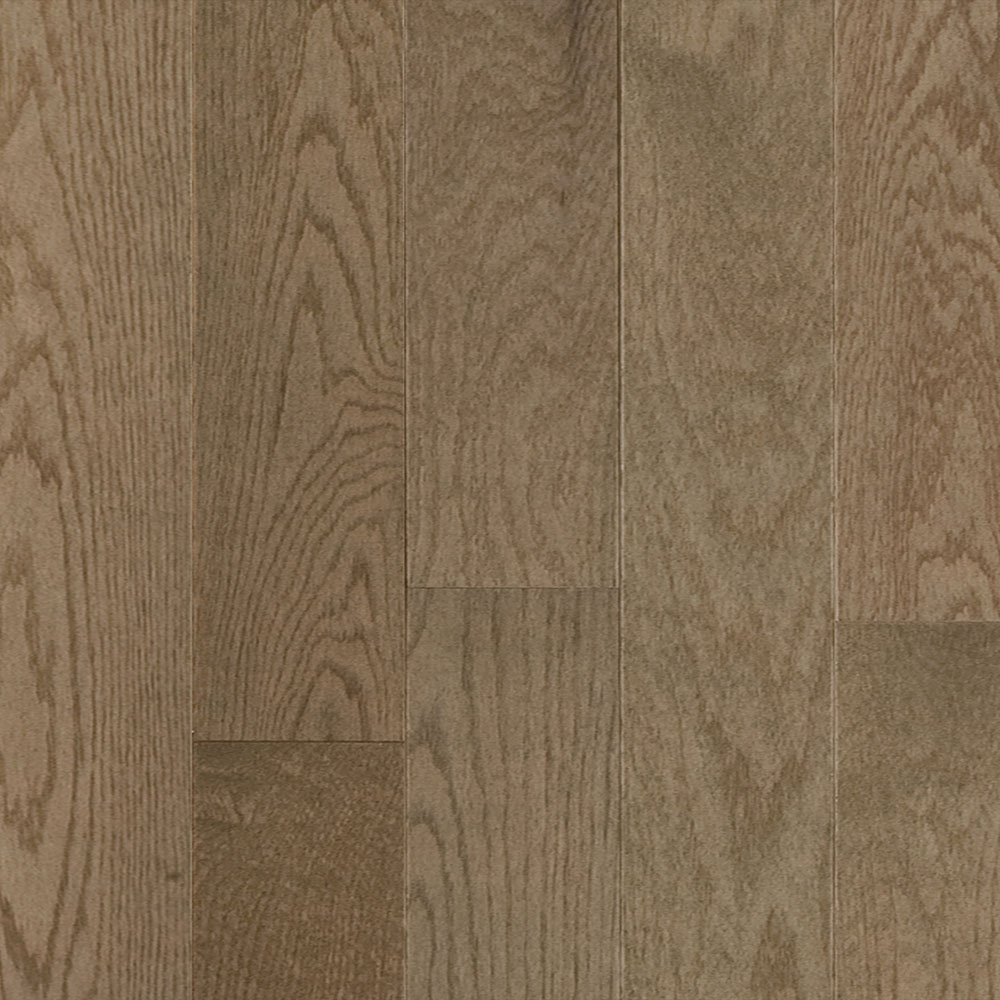 Mercier Design Plus Select and Better Solid 4 1/4 Red Oak Brushed Shadow
