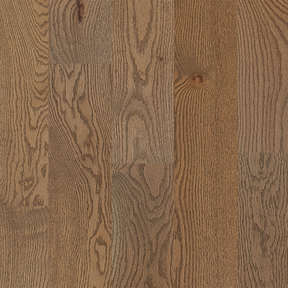 Mercier Design Plus Select and Better Solid 4 1/4 Red Oak Brushed Treasure