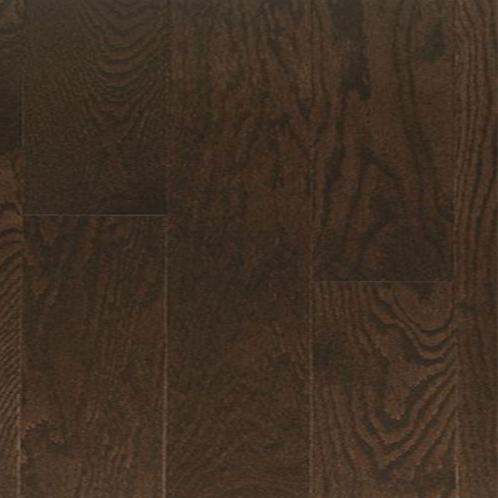 Design Plus Select and Better Engineered 4 1/2 Red Oak Brushed 3/4 Chocolate Brown