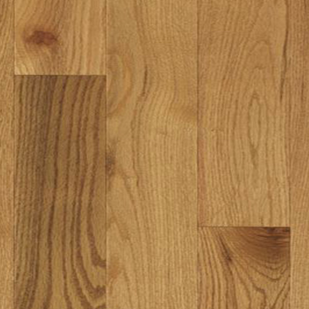 Mercier Design Plus Distinction Engineered 4 1/2 Red Oak 3/4 Creme Brulee Semi Gloss