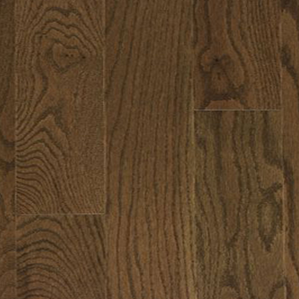 Mercier Design Plus Distinction Engineered 4 1/2 Red Oak 3/4 Java Satin