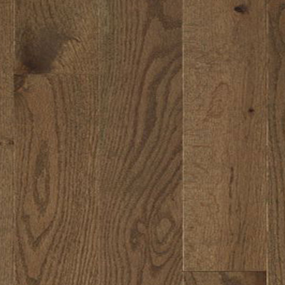Mercier Design Plus Distinction Engineered 4 1/2 Red Oak 3/4 Smoky Brown Satin