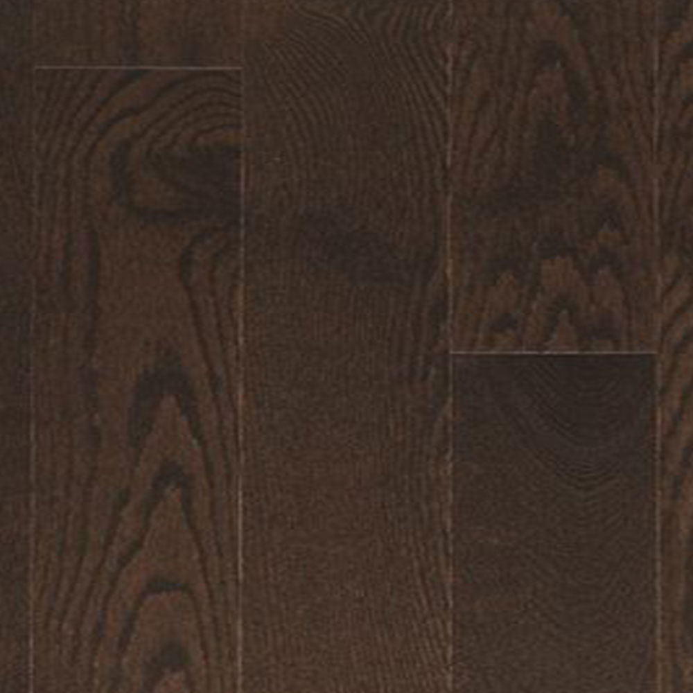 Design Plus Distinction Solid 2 1/4 Red Oak Chocolate Brown Satin