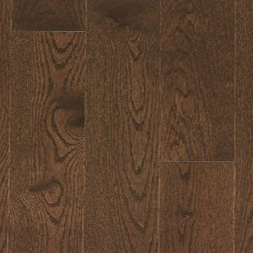 Mercier Design Plus Distinction Solid 3 1/4 Red Oak Autumn Leaf Semi Gloss