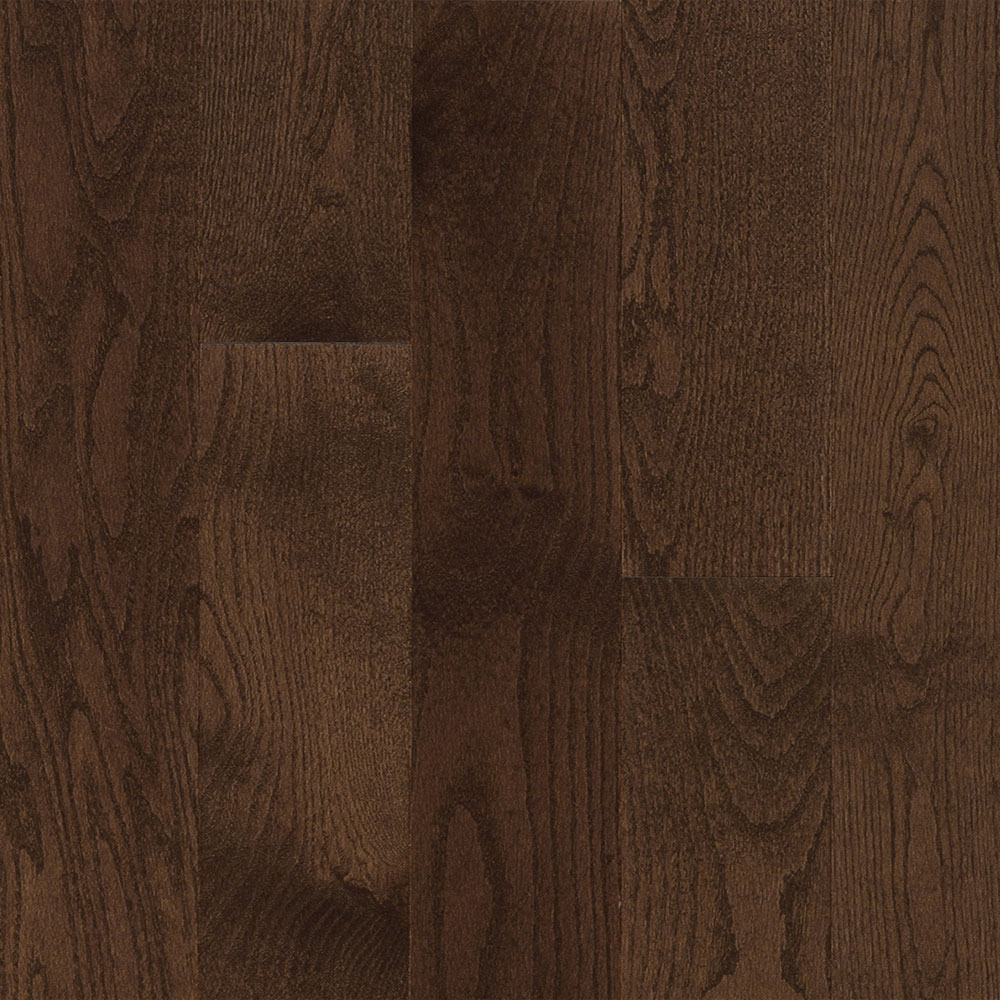 Mercier Design Plus Distinction Solid 3 1/4 Red Oak Medium Brown Matte