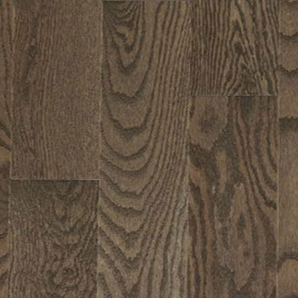 Mercier Design Plus Distinction Solid 3 1/4 Red Oak Stone Brown Semi Gloss