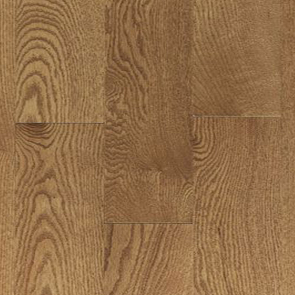 Mercier Design Plus Distinction Solid 3 1/4 Red Oak Toast Brown Semi Gloss