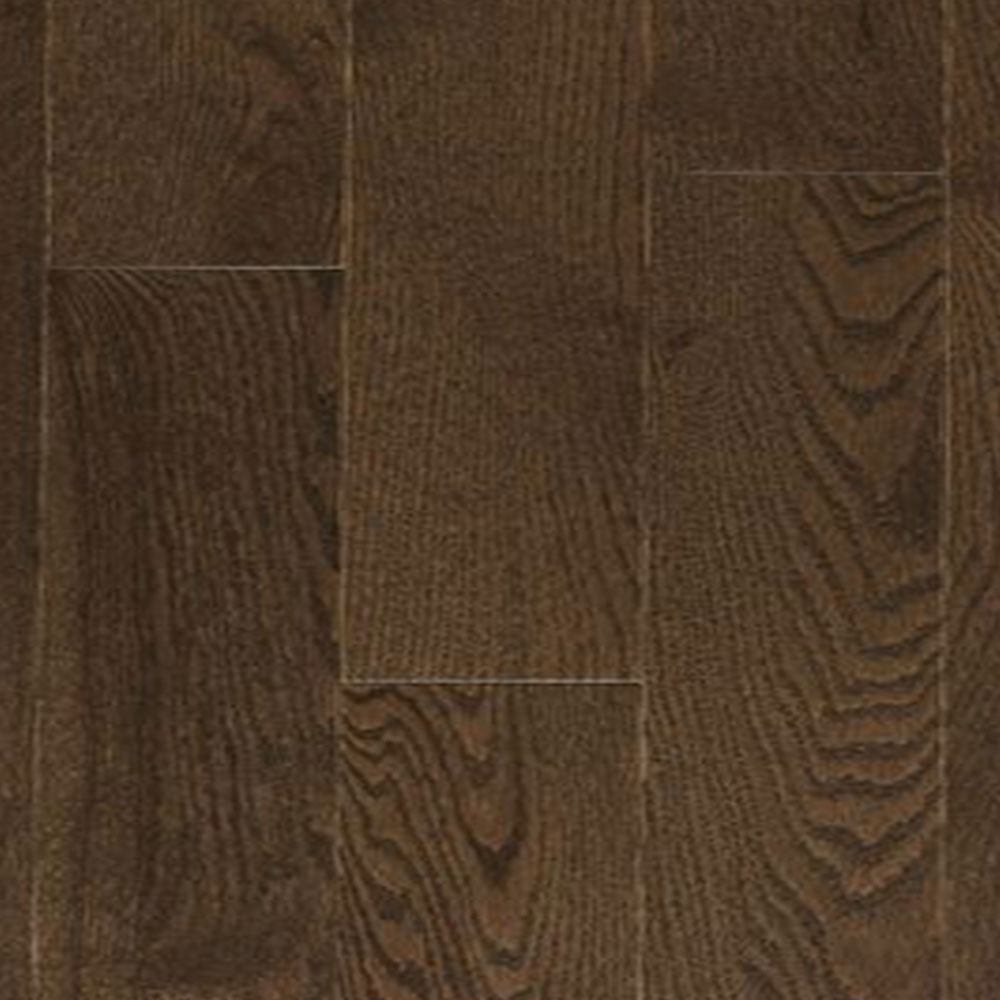 Design Plus Distinction Solid 3 1/4 Red Oak Brushed Medium Brown