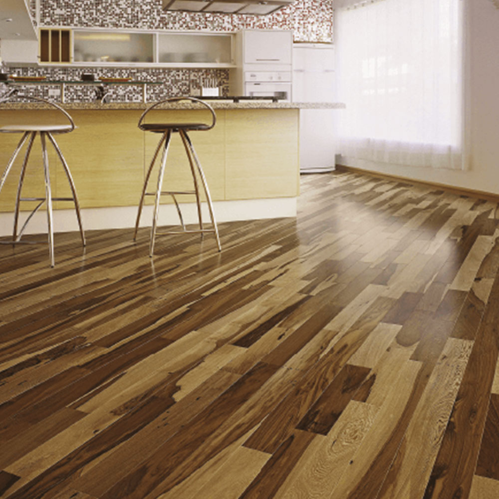 Triangulo Solid 3 4 X 3 Brazilian Pecan Natural