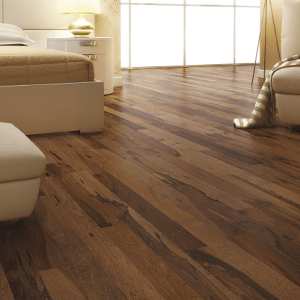 300 Series Brazilian Pecan Chocolate, 12mm Brazilian Pecan Laminate Flooring